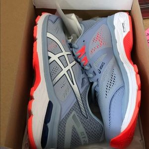 NEW ASICS blue sneakers